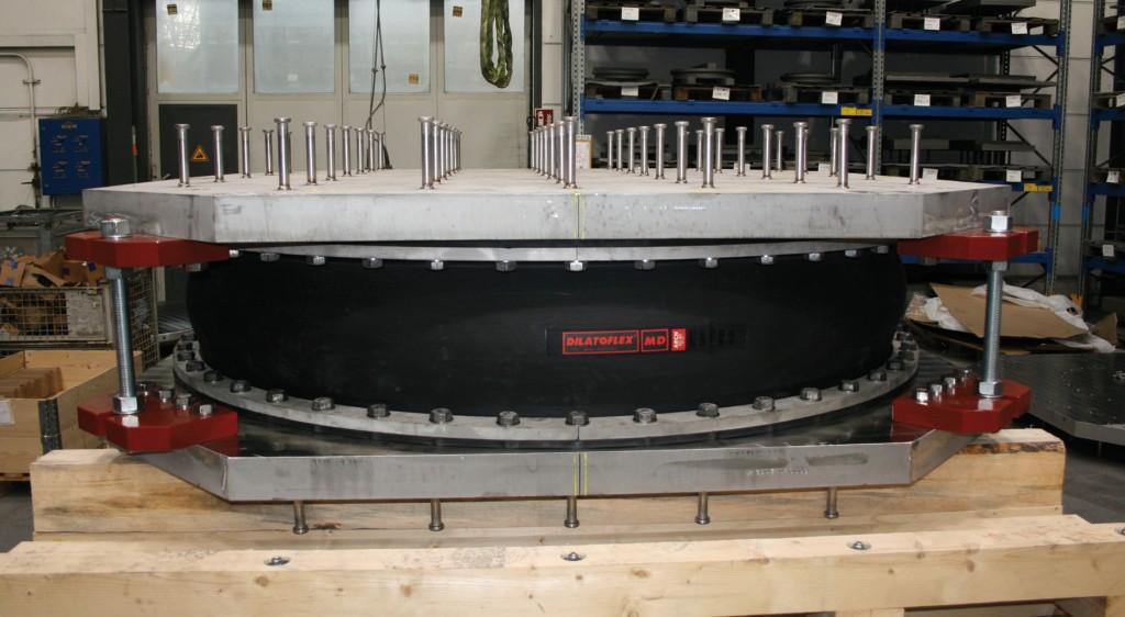 Der Gummiring schützt das SIP-Lager vor dem Eintrag von Schmutzpartikeln bei Überflutung. Abb.: MAURER