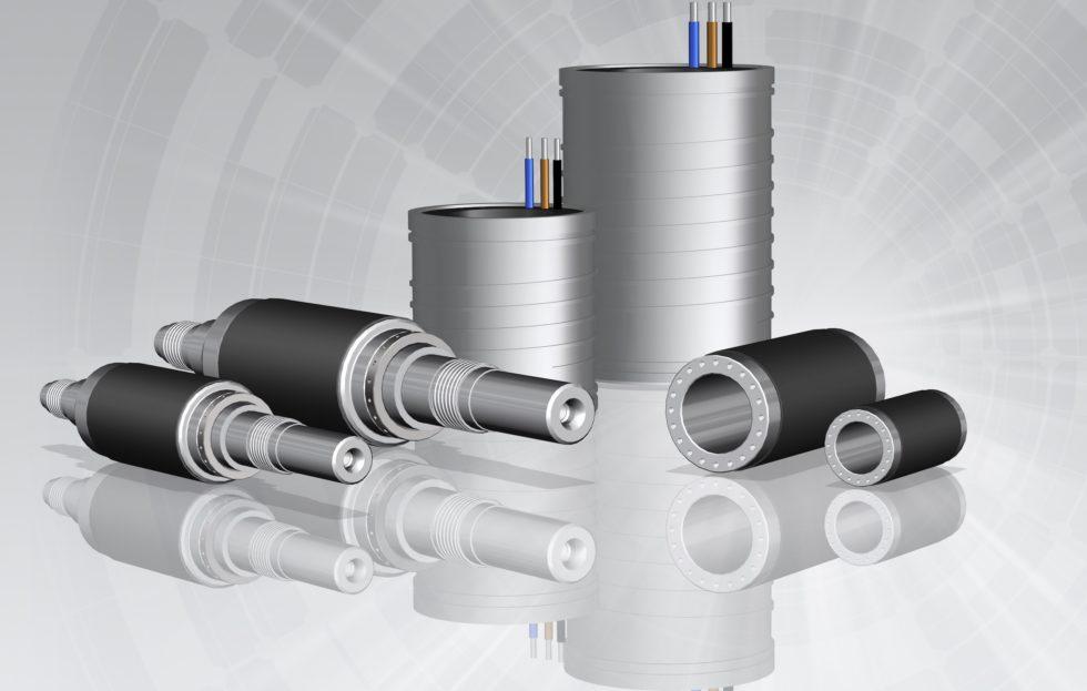 Die Einbausets der Baureihe PSM bestehen aus einem Einbaustator und einer Rotorkomponente. Maschinenbauer können zwischen unterschiedlichen Rotorausführungen wählen. (Bild: GMN)