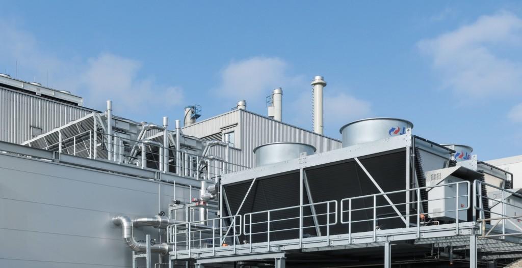 In Landshut kommen moderne hybride Trockenkühler zum Einsatz.Bild: Gammel Engineering