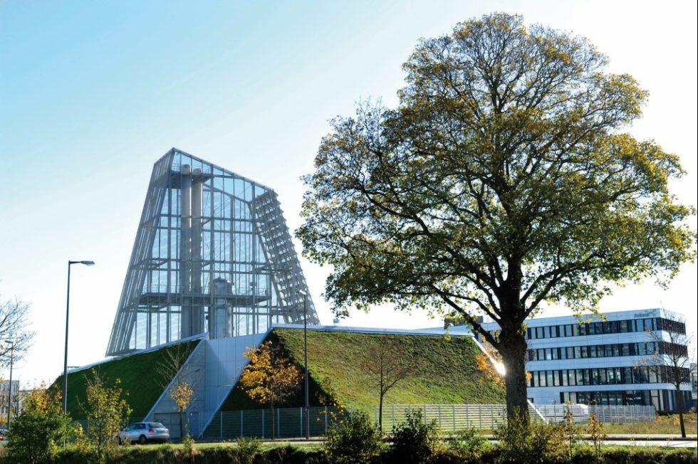 Die Geothermie-Anlage Freiham versorgt seit Herbst 2016 München mit Erdwärme. Bild: Stadtwerke München