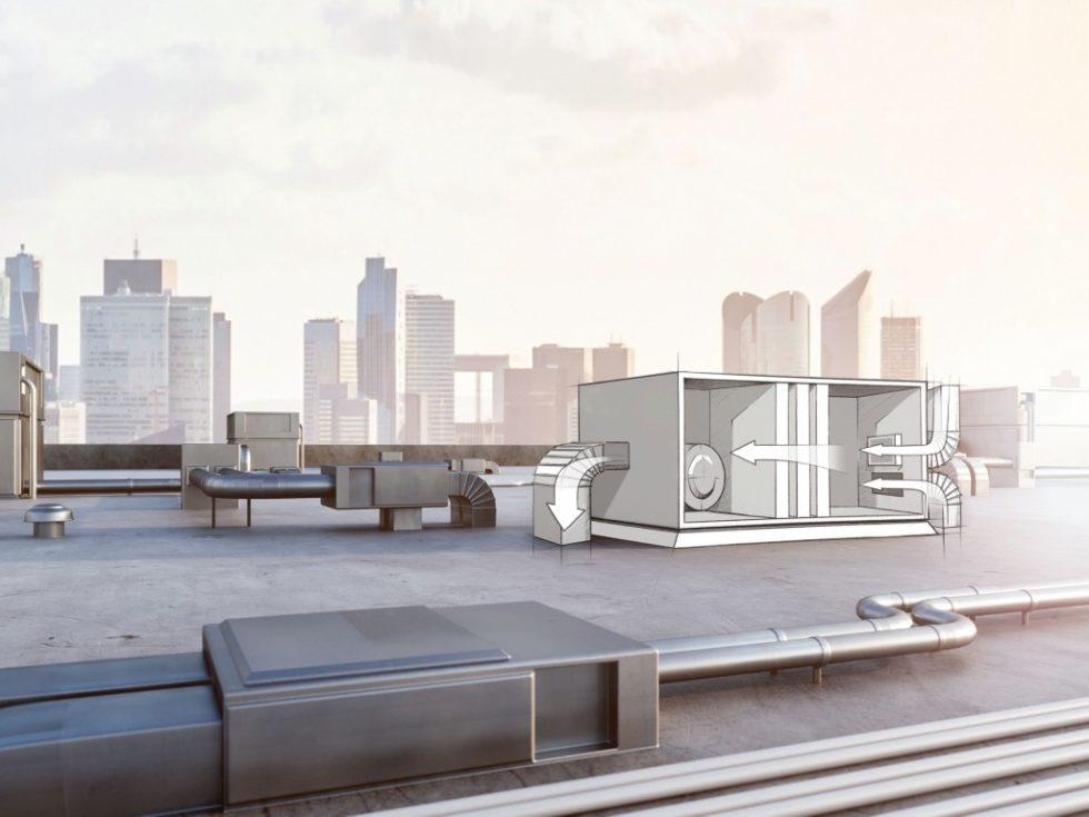 In der Luft- und Klimatechnik sollen Filter ein gutes Raumklima gewährleisten. Aber sie sollen auch den Energieverbrauch maximieren. Bild: Sensirion AG