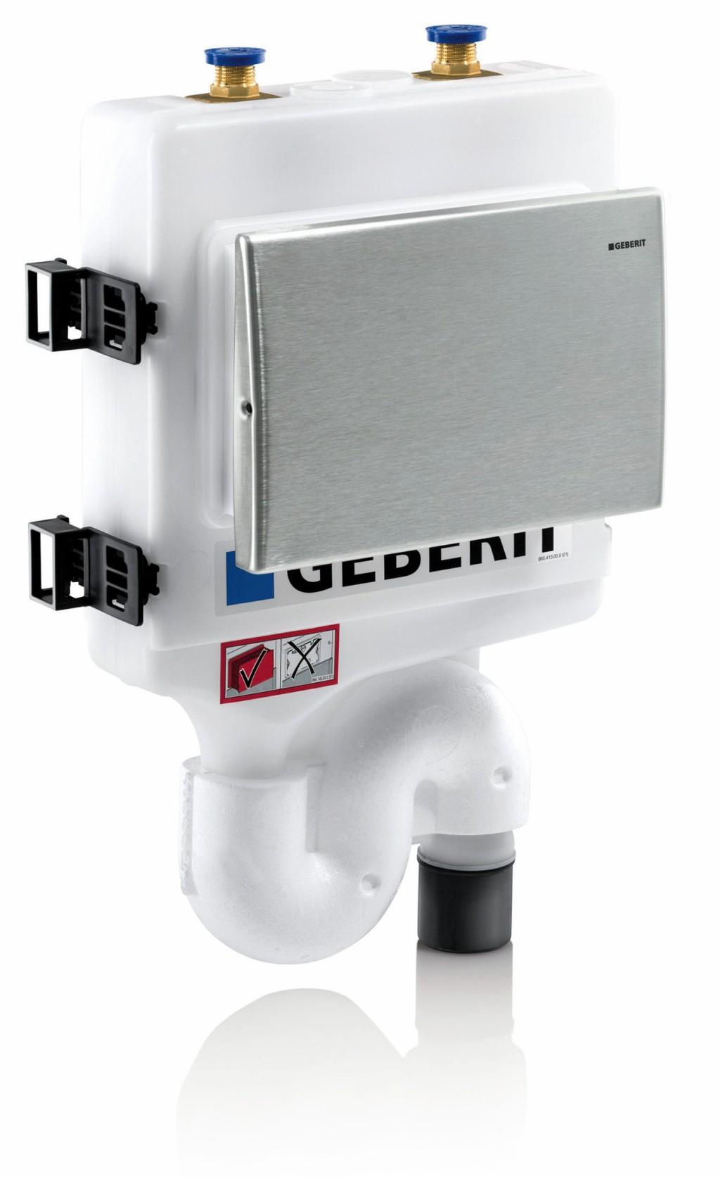 Die Geberit Hygienespülung sorgt für den bestimmungsgemäßen und sicheren Betrieb von Trinkwasser-Installationen. Sie erfüllt die Schallschutzanforderungen nach VDI 4100 und DIN 4109 sowie die Geräuscharmaturenklasse gemäß EN ISO 3822–1. Bild: Geberit