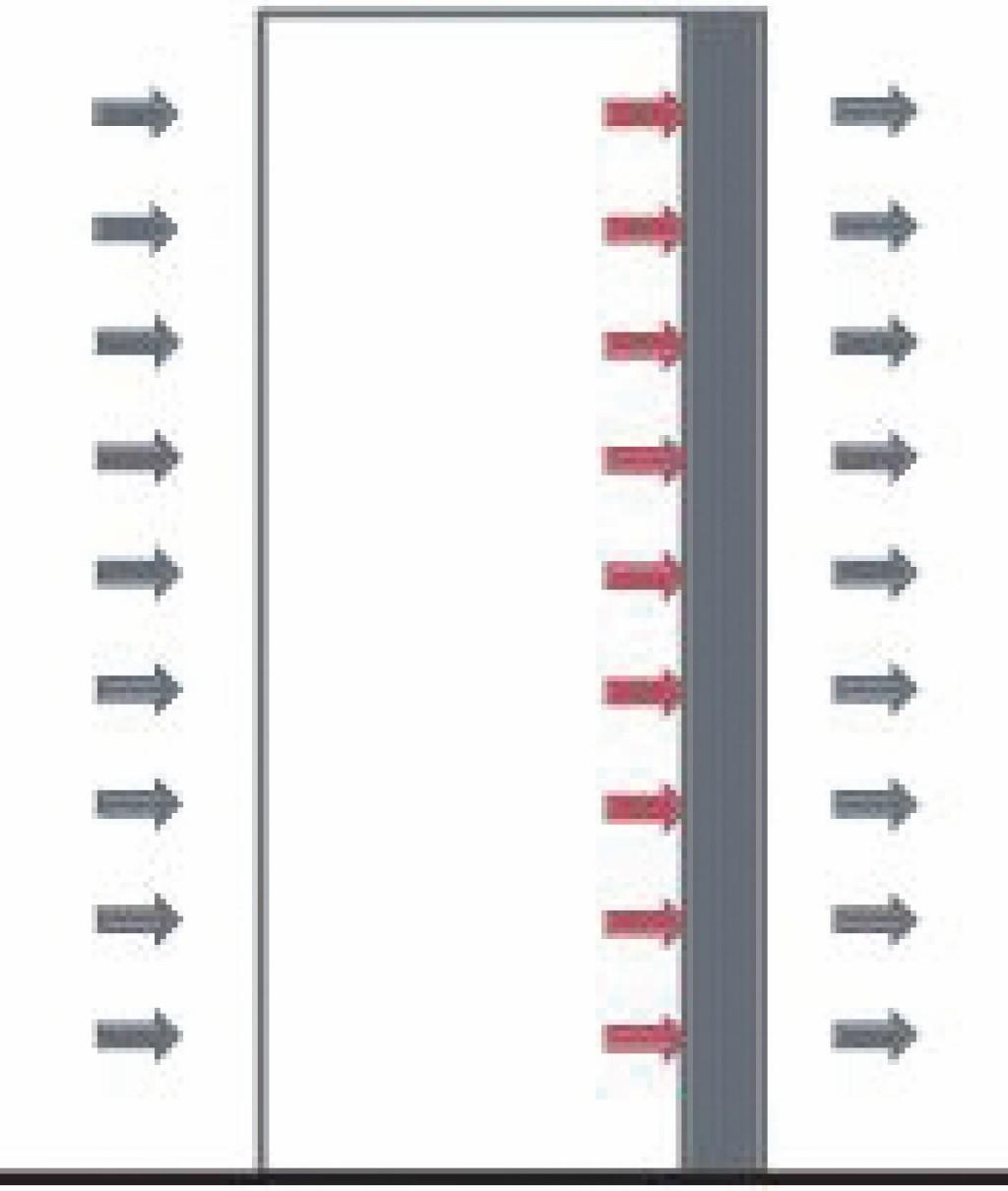 Wassergekühltes Rack als offenes System. Bild: Dorenburg/Richter