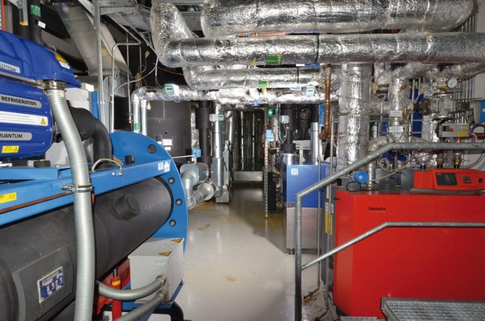 Das zentrale Versorgungssystem des E.ON Energy Research Centers in Aachen. Bild: RWTH