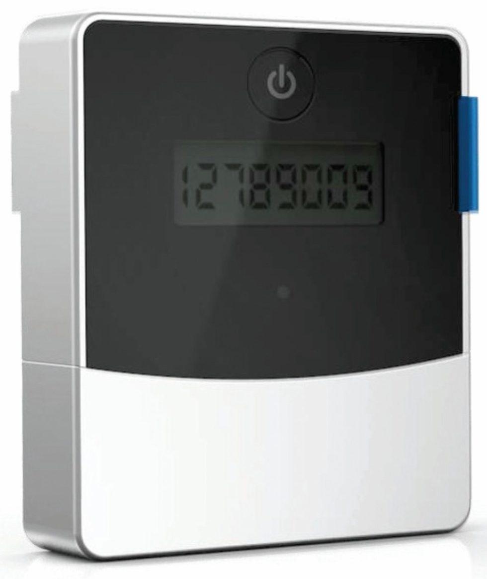 Die EnergyCam 2.0 von Fast Forward sitzt in einem kompakten, nach IP 64 geschützten Gehäuse. Dank der verbesserten Foto-Optik kann sie analoge Zählerstände jetzt noch zuverlässiger digitalisieren. Bild: Fast Forward