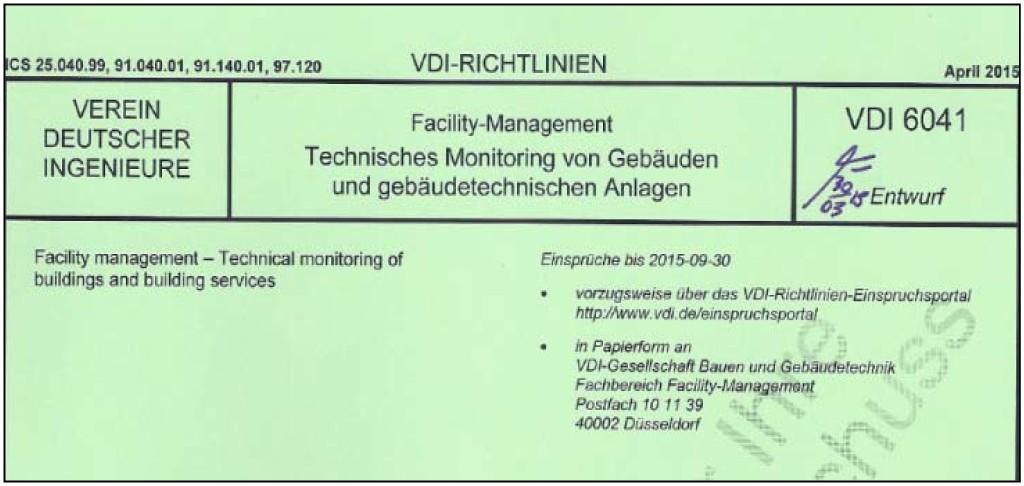 Auszug Deckblatt der Richtlinie. Bild: Mengede
