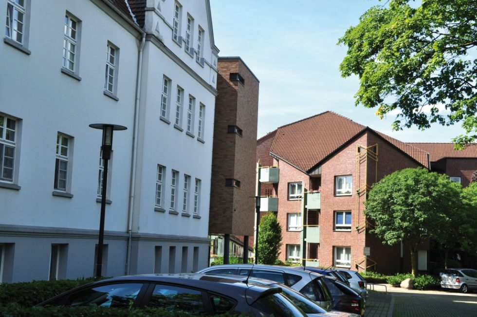 Beispiel Gladbeck: Im dortigen Martaheim der Diakonie sind derzeit 120 Schäden aufgetreten. Bild: Genath
