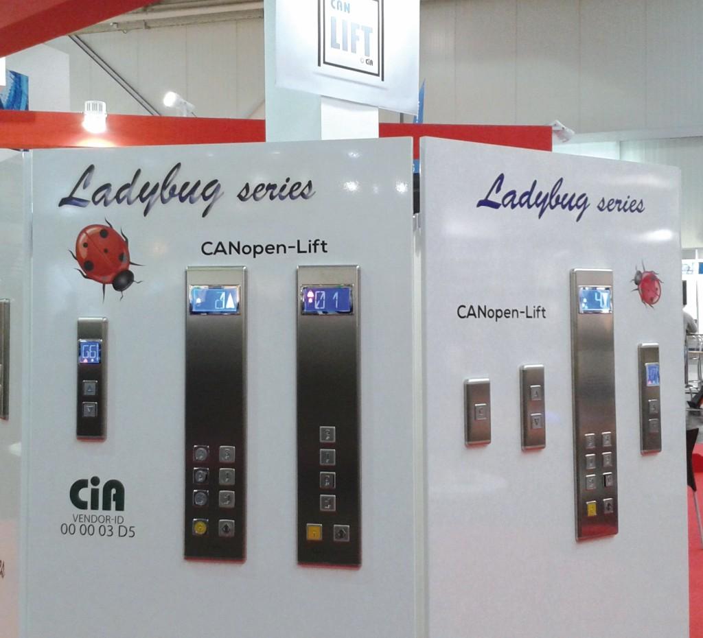 CANopen-Taster von CMF aus Italien. Bild: ProEconomy