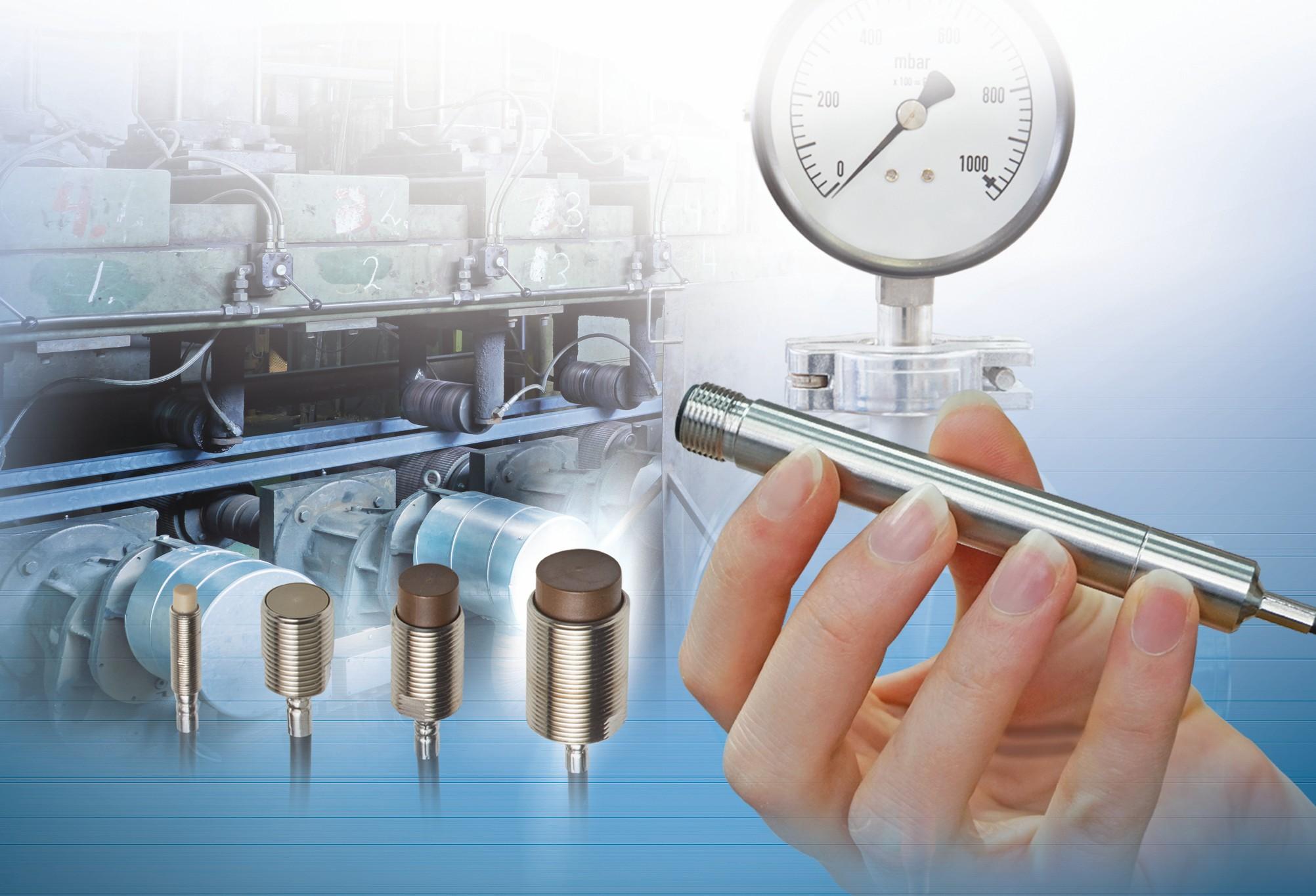 Bild 6: Die induktiven Wegsensoren, die auf dem Wirbelstromprinzip beruhen, sind unempfindlich gegenüber äußeren Einflüssen und lassen sich auch in rauer Industrieumgebung einsetzen. Bild: Micro-Epsilon
