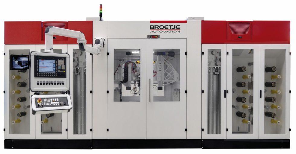 """Bild 1: Mit der """"Staxx Compact 1700"""" hat BA Composites das weltweit erste CNC-gesteuerte Fiber-Placement-Zentrum für die Serienfertigung von Strukturbauteilen ent-wickelt. (Bild: Broetje-Automation)"""