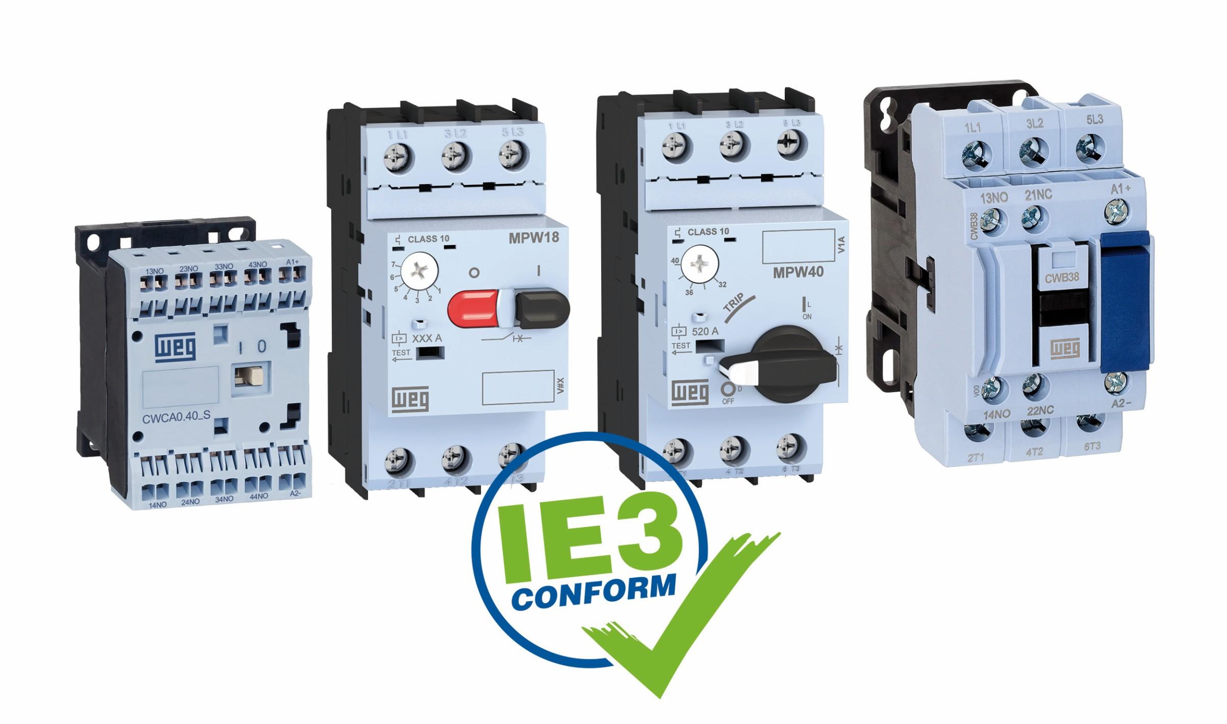 Bild 4 IE3-konforme Niederspannungsschaltgeräte. Bild: WEG