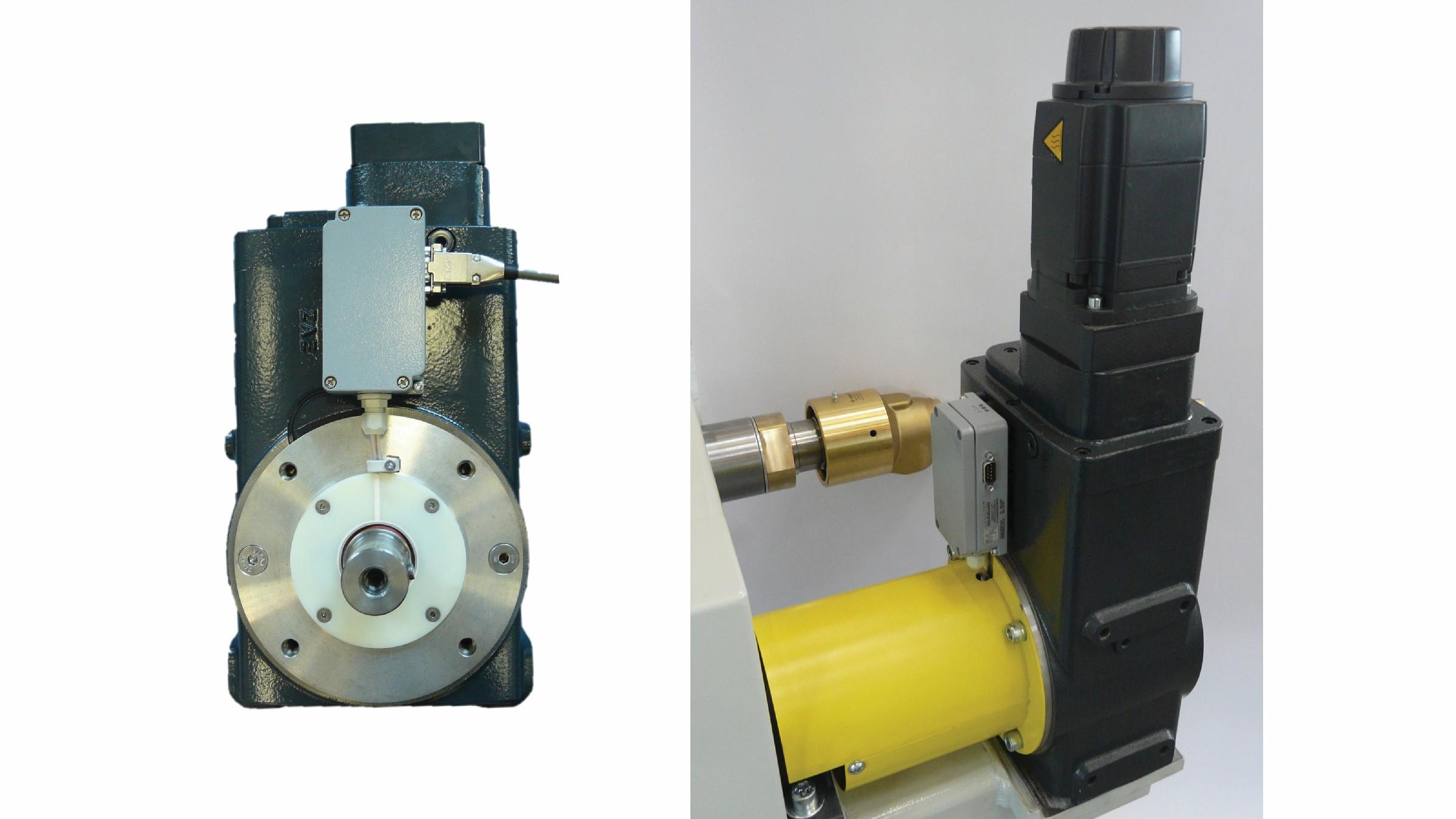 Bild 7 Getriebe mit Q-Torque einzeln und in Kroenert-Anlage verbaut. Bild: ZAE