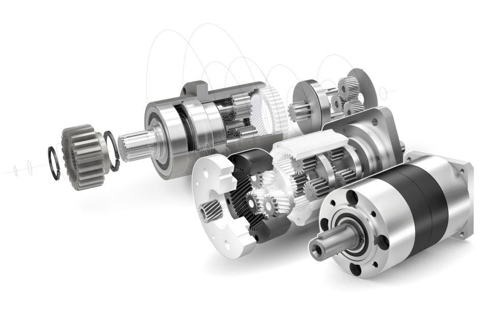 Bild 1 Über 40 Jahre Innovationen rund um das Planetengetriebe – neueste Entwicklung: Low Cost-Getriebe mit Ölschmierung. Bild: IMS Gear