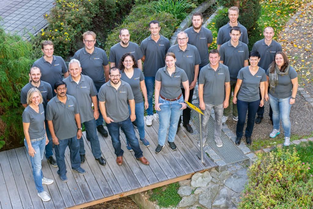 Das NexWafe-Team im Sommer 2018. Bild: Nexwafe GmbH