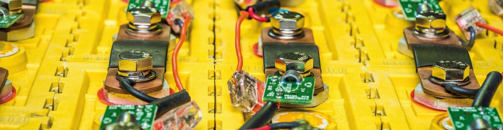 Verdrahtung auf Li-Ionen-Batterien.Bild: SIMPLi Return