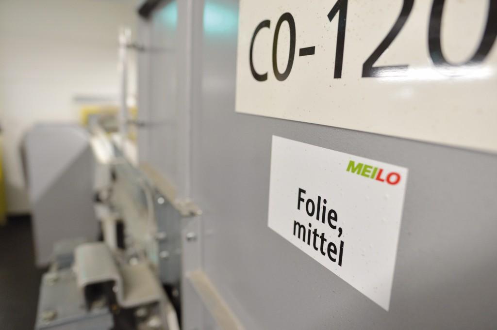 Meilo kann sogar drei verschiedene Sorten Folie unterscheiden. Bild: Lobbe (7), Vogt (2)