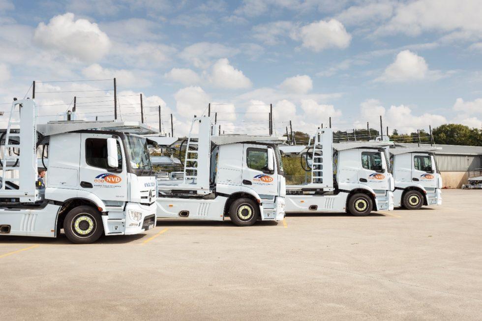 Mit der größten irischen Transportflotte wickelt National Vehicle Distribution (NVD) jährlich rund 400 000 Fahrzeugbewegungen mit einer spezialisierten Fahrzeuglogistik-Software von Inform ab. Bild: Inform