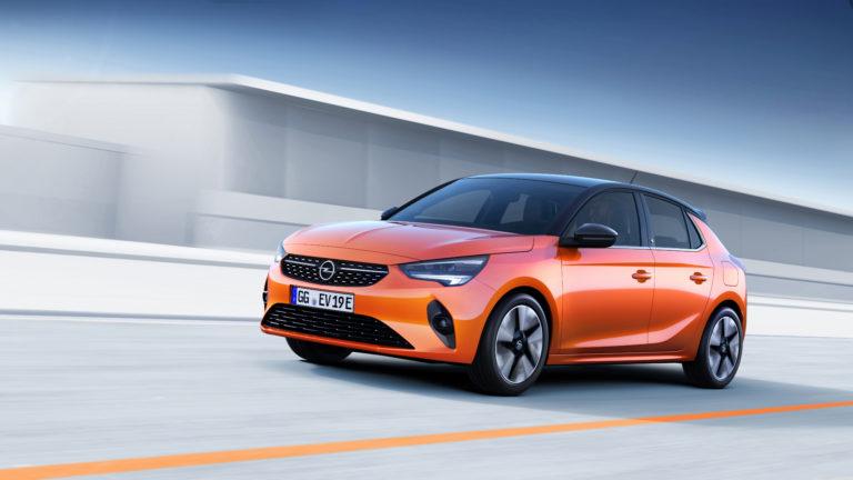 Opel Corsa-e in Orange