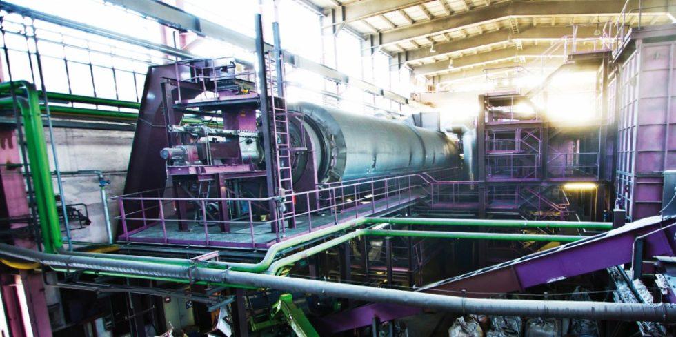 Pyrals Pyrolyse-Anlage in Freiberg. Bild: Pyral AG