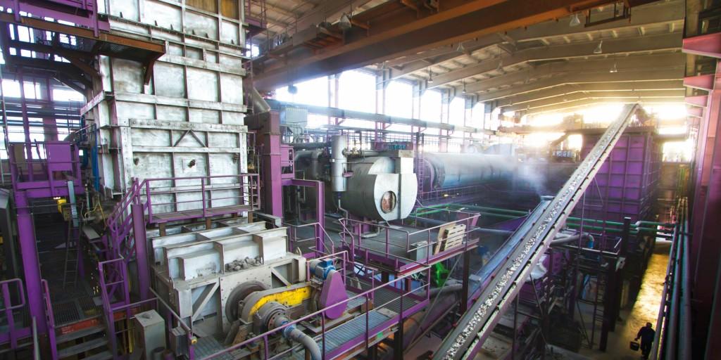 Eine zweite Ansicht von Pyrals Vergasungs-Anlage. Bild: Pyral AG