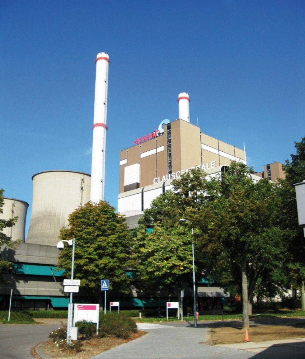 """In den Niederlanden steht der Block C (""""Claus"""") des Kraftwerks Maasbracht mit einer installierten Leistung von 1305 MW, trotz eines elektrischen Nettowirkungsgrades von 58,9%, seit dem 1. Juli 2014 in Langzeit-Kaltreserve. Bild: J. Schneider"""