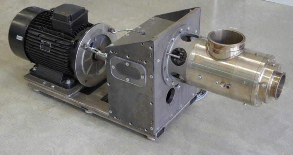 Prototyp der Turbinen-Generator-Einheit. Bild: OTH Amberg-Weiden
