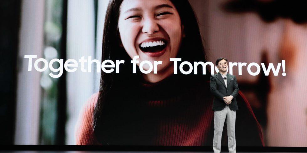 Samsung Keynote CES 2020