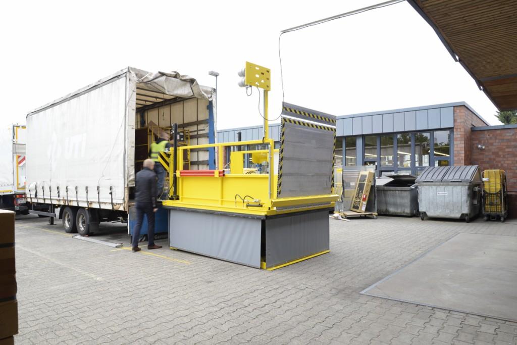 Bild 3 Prototyp im Praxiseinsatz. Quelle: Deutsche Post AG