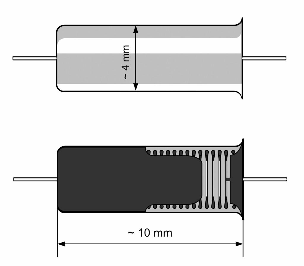 Bild 8 Beschleunigungssensor, Ansicht und Röntgenbild. Quelle: R. Konersmann