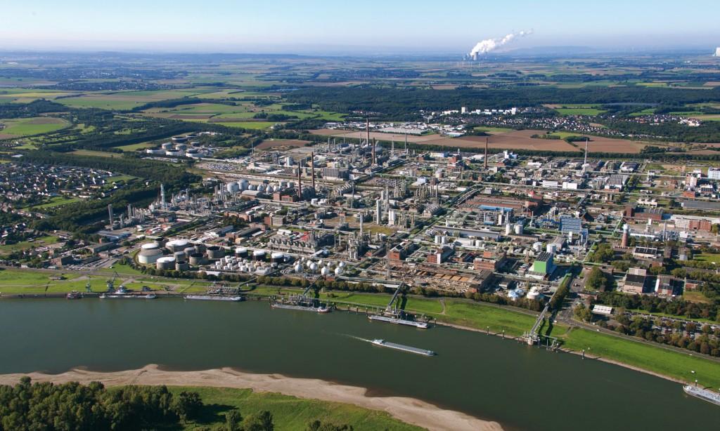 Bild 1 Standortübersicht der Fa. INEOS in Köln. Quelle: Ineos GmbH