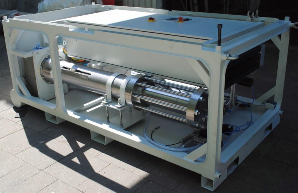 Bild 5 Druckerzeugeranlage mit Spindelpumpe. Quelle: BAM