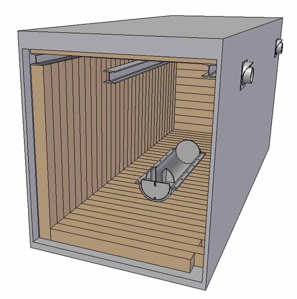 Bild 6 CAD-Modell des Prüfcontainers . Quelle: BAM