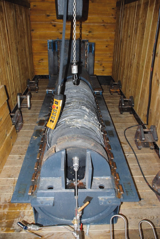 Bild 7 Blick in den Prüfcontainer . Quelle: BAM