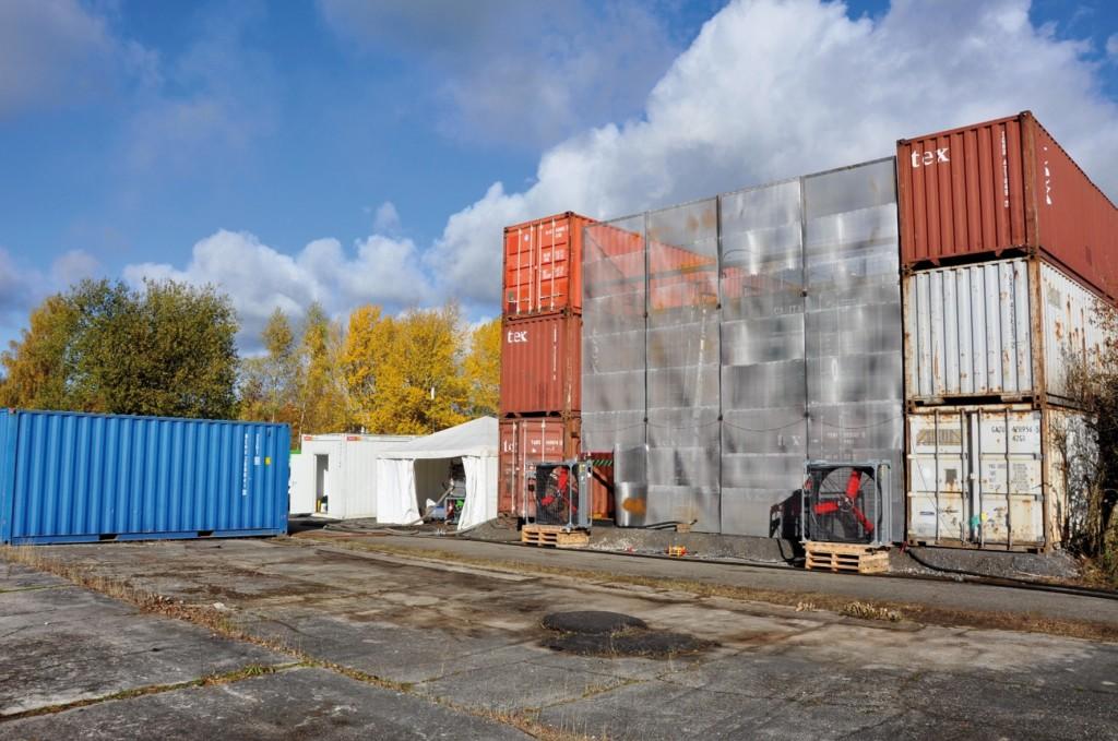 Bild 2 Versuchsaufbau. Quelle: IFAB