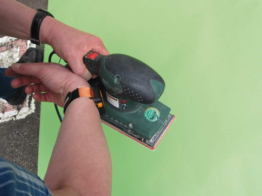 Bild 4 Anmelden der Maschine an das Dosimeter (HAVwear-Modul). Quelle: DGUV