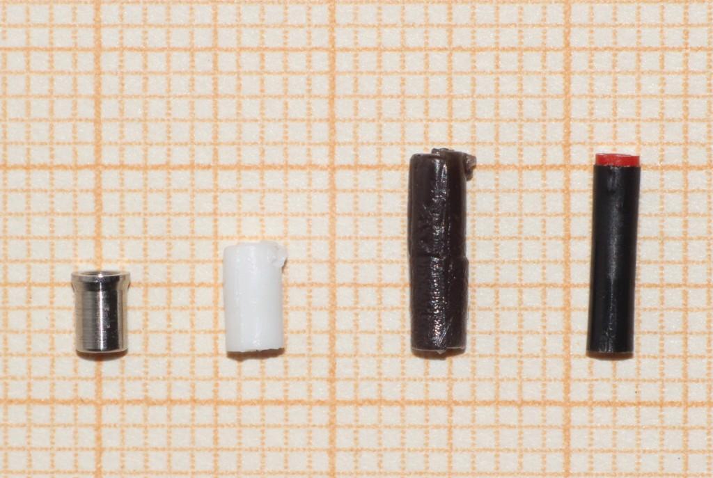 Bild 3 Kanalfilter unterschiedlicher Bauformen.