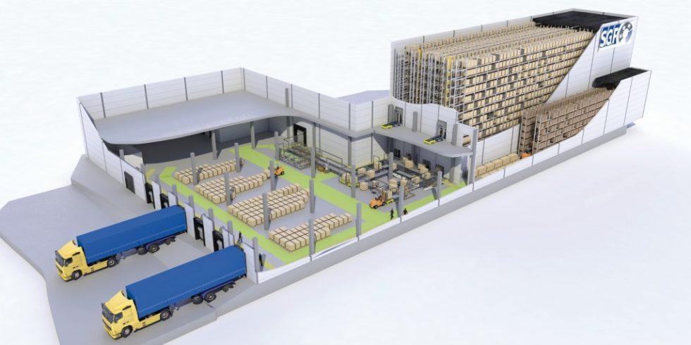 Die Süddeutsche Gelenkscheibenfabrik (SGF) wird die bestehenden Werke in Kraiburg und Waldkraiburg zusammenführen und Produktion und Logistik noch enger verzahnen. In Waldkraiburg entsteht im Rahmen der Umstrukturierungen ein neues Logistikzentrum. Bild: IGZ