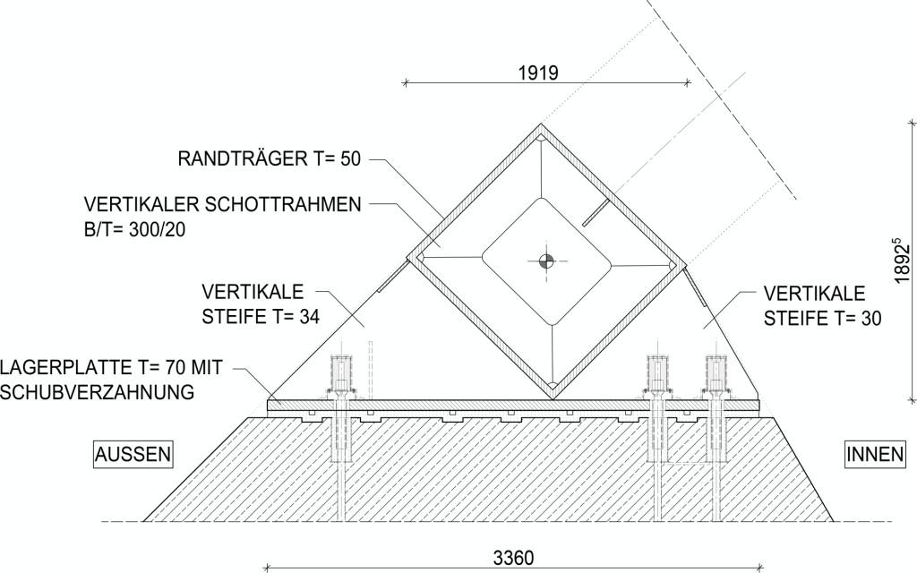 Bild 17. Widerlagerdetail Abb.: schlaich bergermann partner