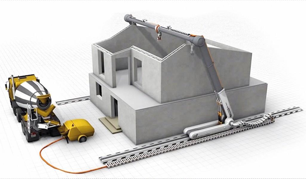 Bild 5. CC-Anwendung auf der Baustelle mit Schienensystem Abb.: [10]