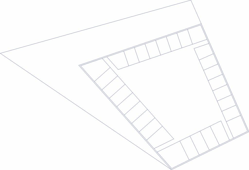 Bild 15. Ergebnis dritte Datei: Erdgeschoss mit Achsen