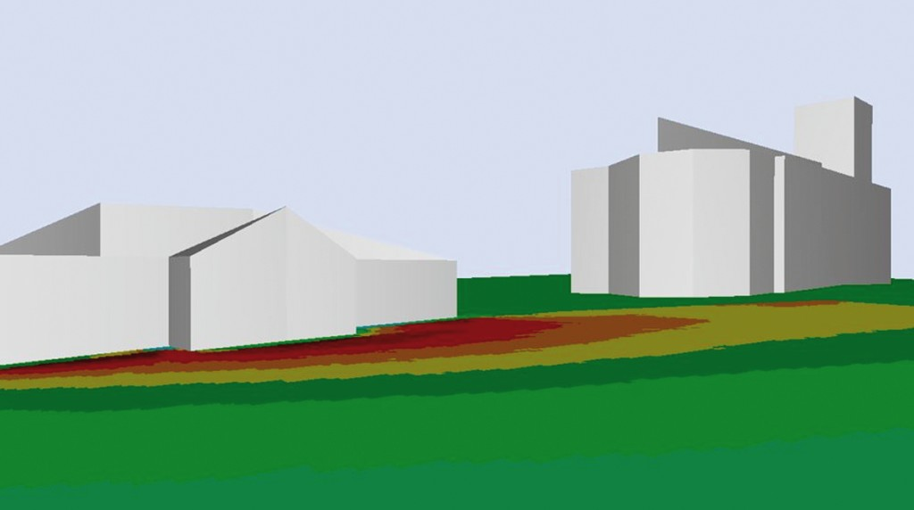 Bild 3 CPX-Indizes der untersuchten Messstrecken für 30 km/h.