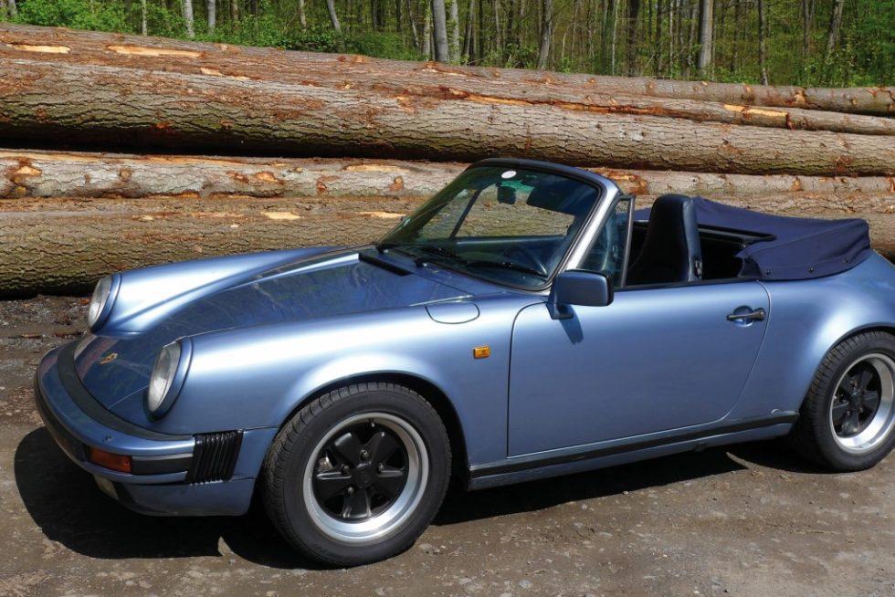 Bild 1 Messobjekt Porsche 911 Cabriolet, Baujahr 1986. Quelle: IFA