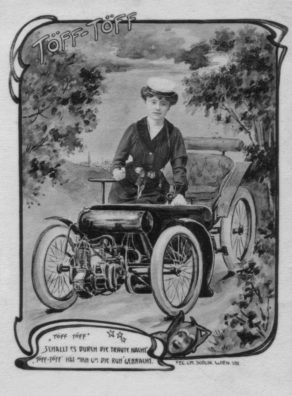 Bild 2 Scherzkarte, um 1900 Quelle: Sammlung Peter Payer