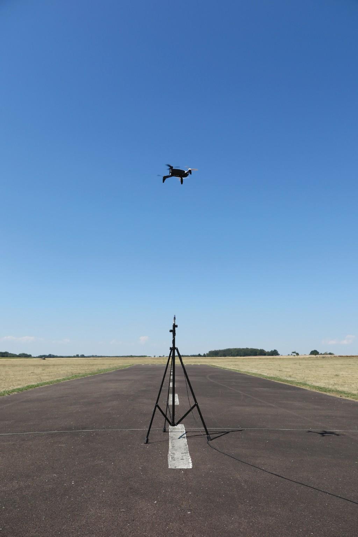 Bild 3 Überflugmessungen mit verschiedenen Drohnentypen.