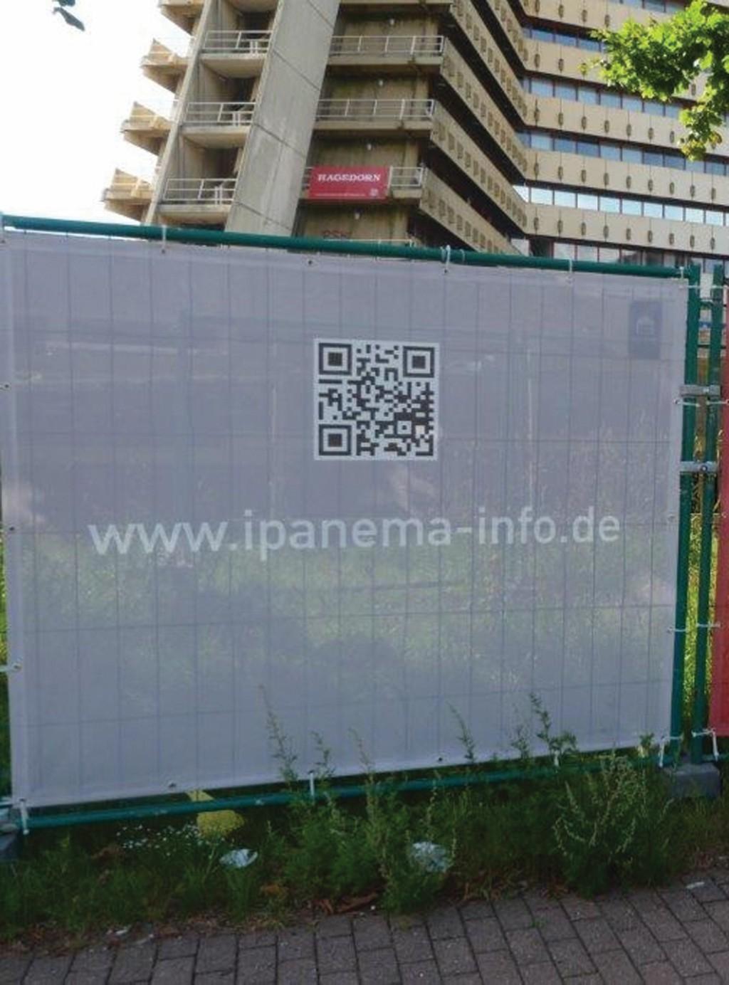 Bild 2 Hinweise am Bauzaun für weitere Informationen. Foto: konsalt GmbH