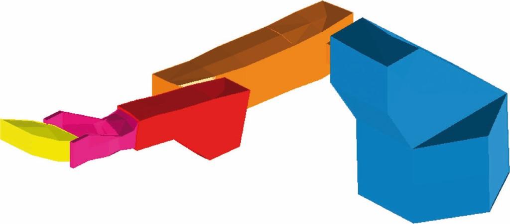 Bild 6. Ausschnitt aus der animierten zweiten Mode des KR 60 HA. Bild: ISW, Universität Stuttgart
