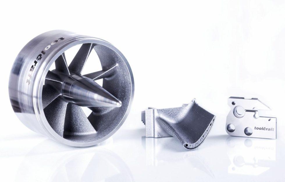 Bild 1. Verschiedene mithilfe der ‧additiven Fertigungstechnologie ‧hergestellte Bauteile. Bild:Toolcraft