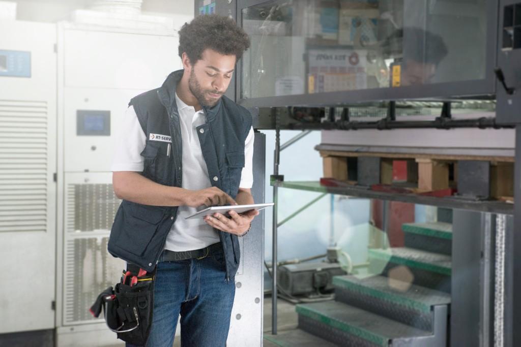 Bild 1. Neue digitale Lösungen im Bereich Field Service tragen dazu bei, die Kundenkommunikation zu optimieren. Bild: SAP