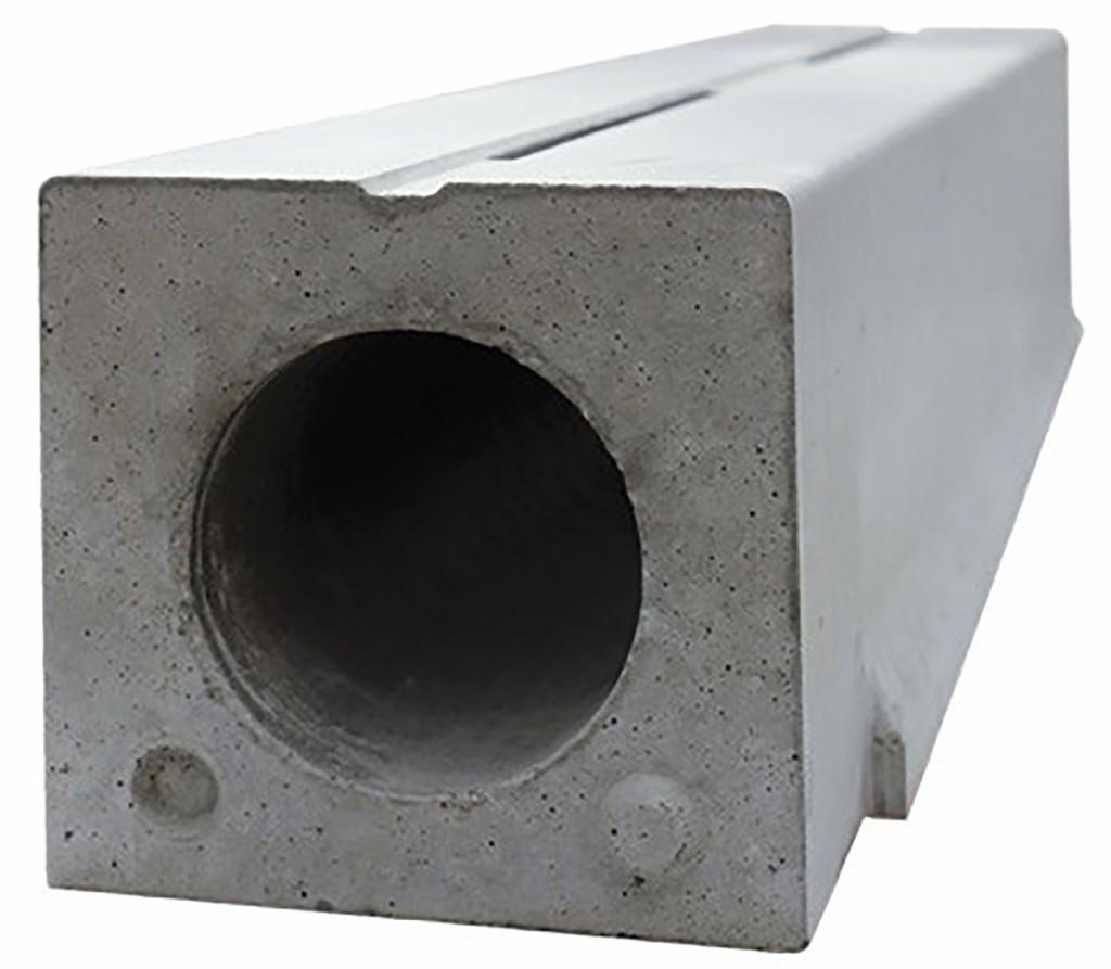 Ein typischer Baustein einer Schlitzrinne der smartAir-Filteranlage. Bild: Betonwerk Neu-Ulm
