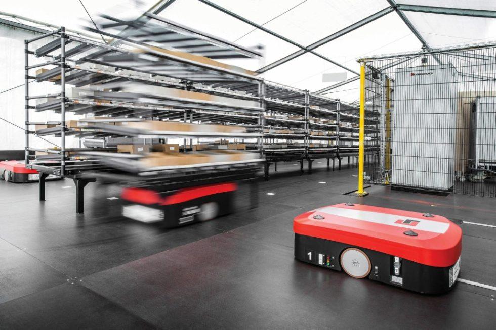 Der Supermarkt der Zukunft. Bild: Audi AG